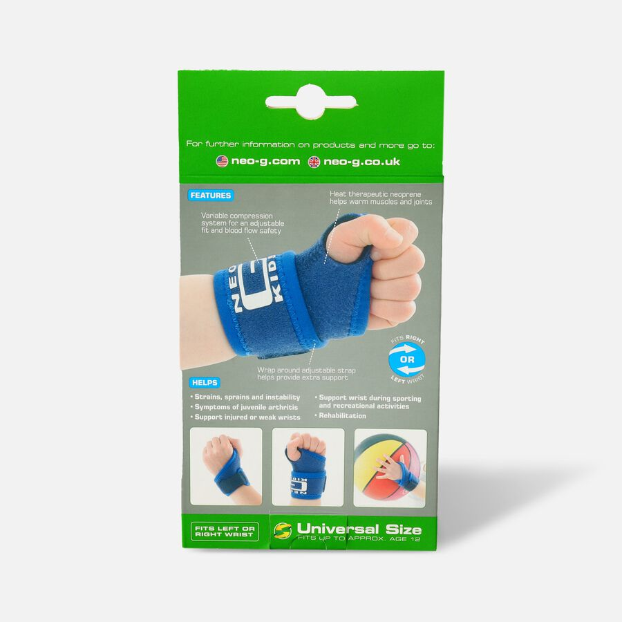 Neo G Kids Wrist Support, One Size, , large image number 1