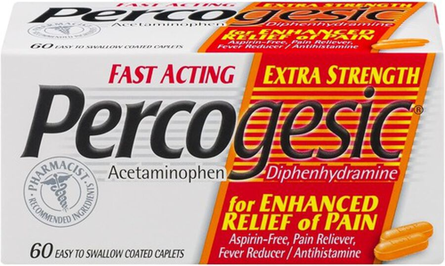 Percogesic, Extra Strength, 60 count, , large image number 0