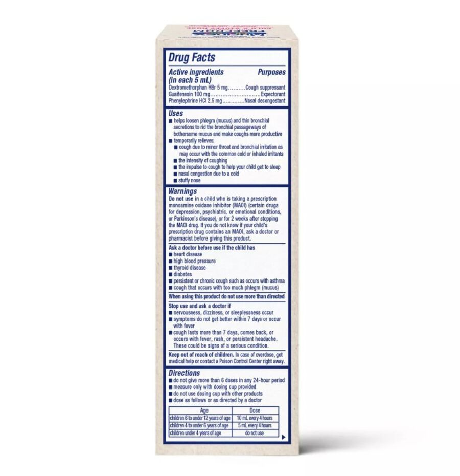 MUCINEX Children's Liquid, Multi-Symptom Cold and Stuffy Nose, , large image number 1
