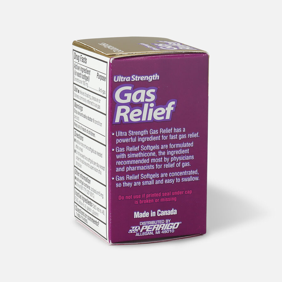 GoodSense® Gas Relief Ultra Strength Simethicone 180 mg Softgels, 60 ct, , large image number 3
