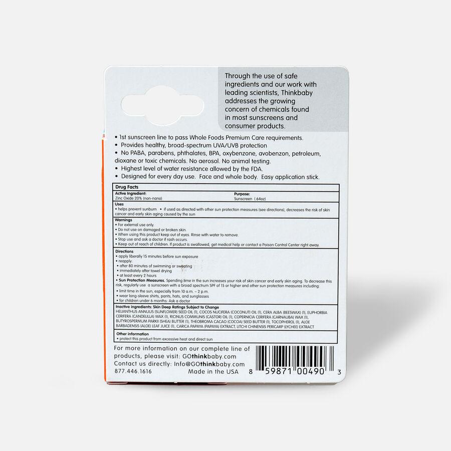 Thinkbaby Sunscreen Stick SPF 30, 0.64 oz, , large image number 1