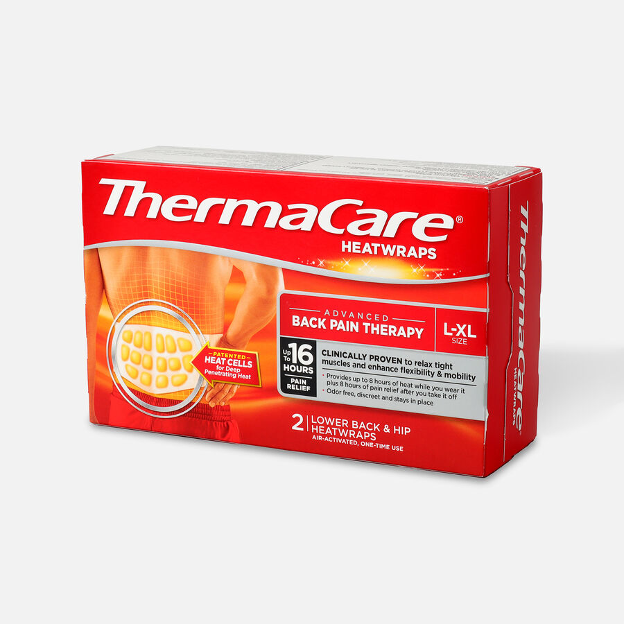 Thermacare Heat Wrap 8HR, Large/X-Large, 2 ct, , large image number 1