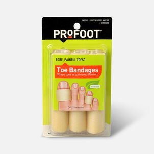 Profoot Care Toe Bandages, 3 ea