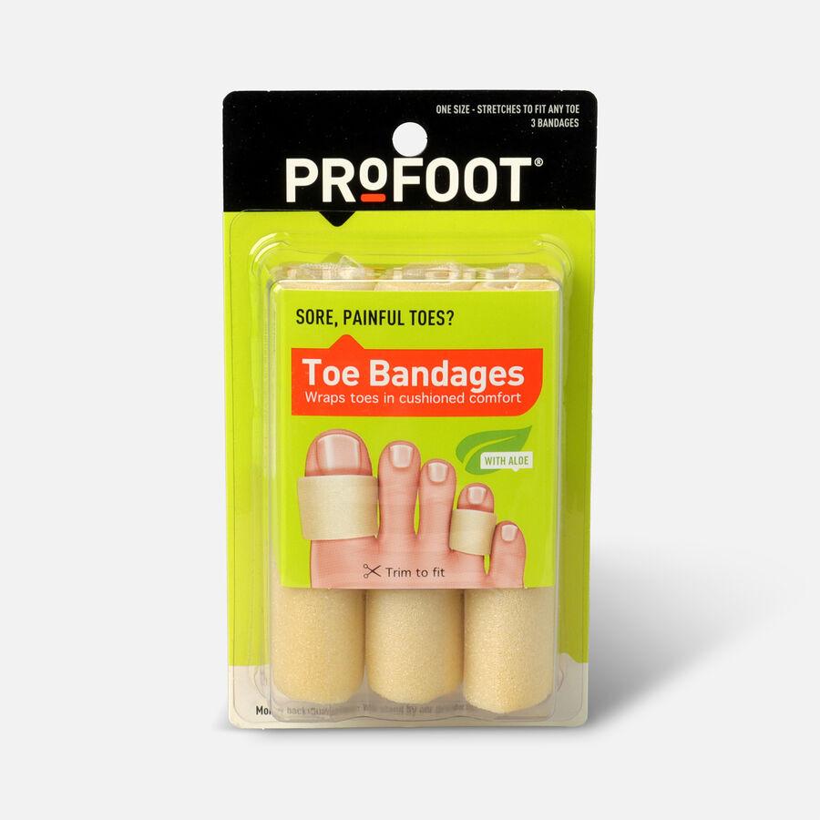 Profoot Care Toe Bandages, 3 ea, , large image number 0