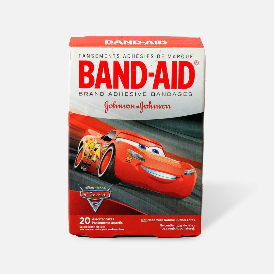 Band-Aid Adhesive Bandages, Disney/Pixar Cars 3, 20 ct., , large image number 1