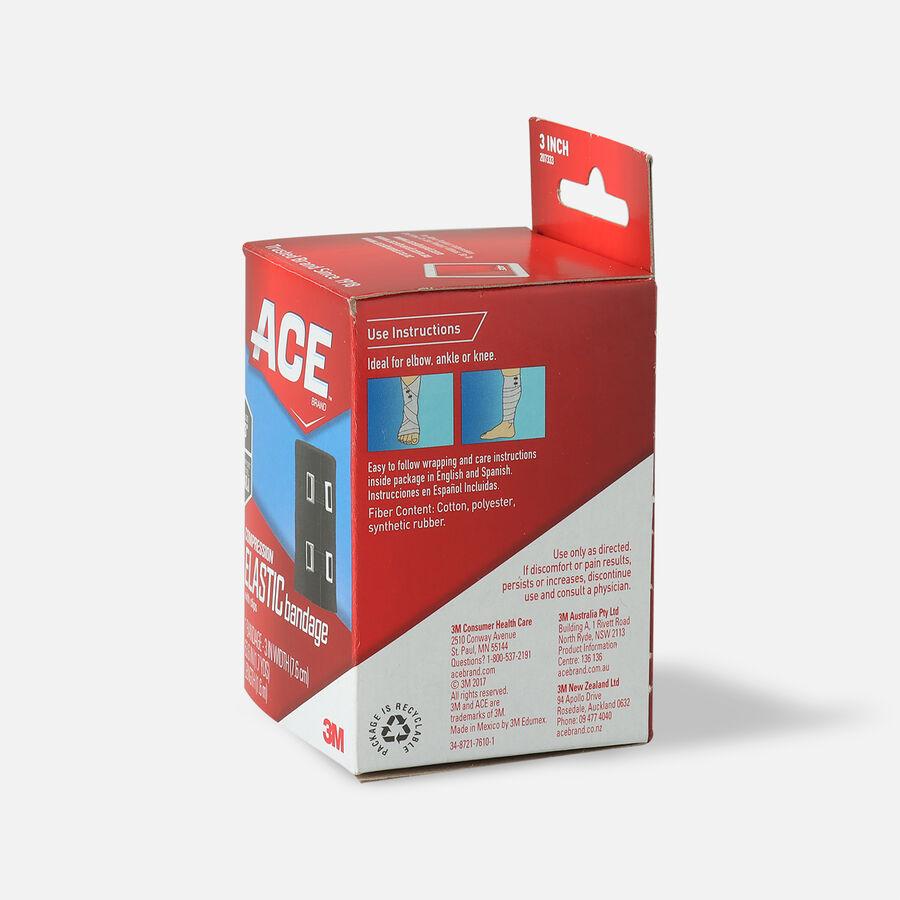 Ace Elastic Bandage with Clips - Black, , large image number 3