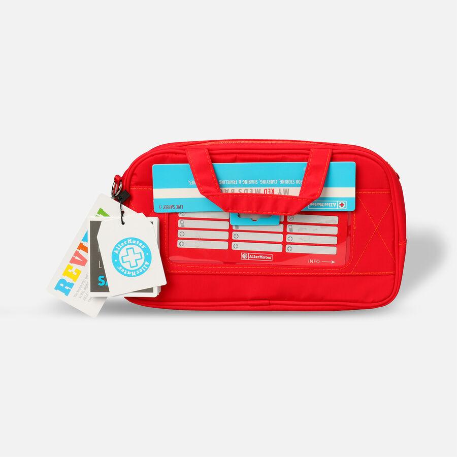 AllerMates Ruby Red Meds Insulated Medicine Bag Case for Allergy & Asthma Meds, , large image number 2