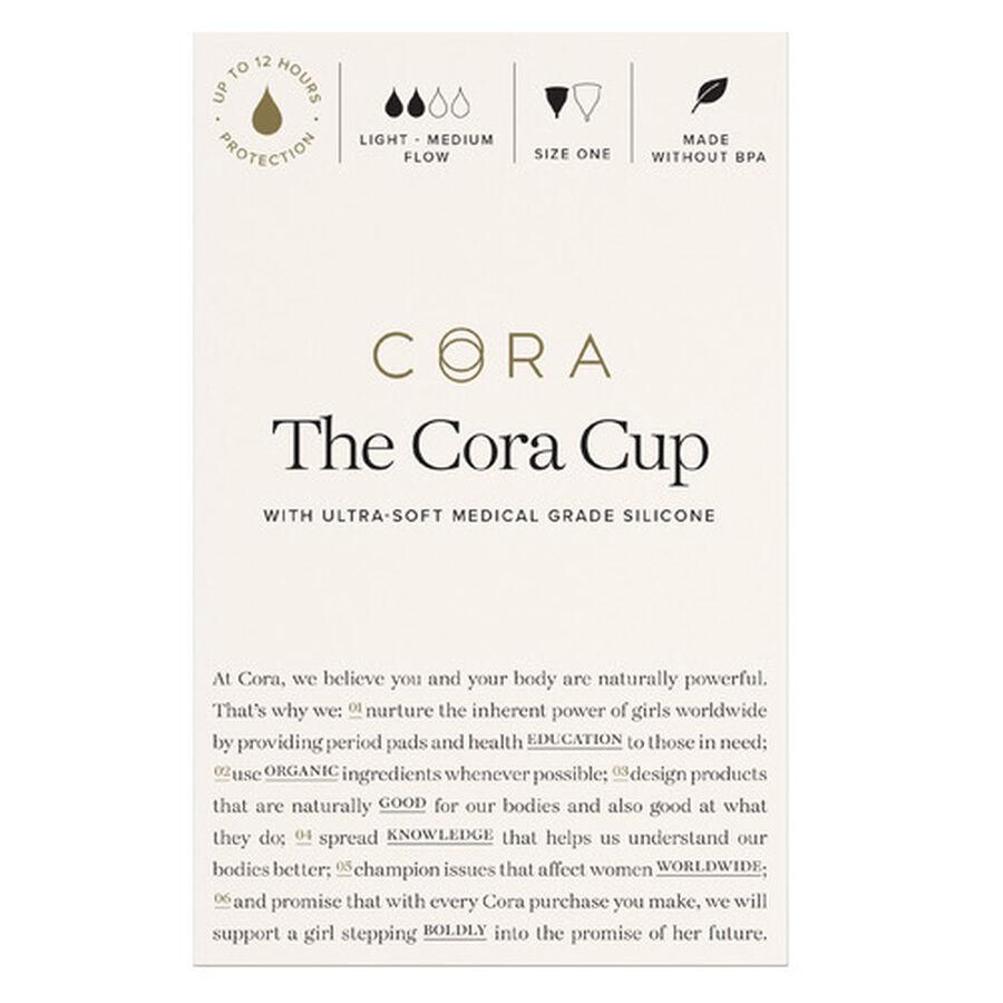 Cora Menstrual Cup, , large image number 1