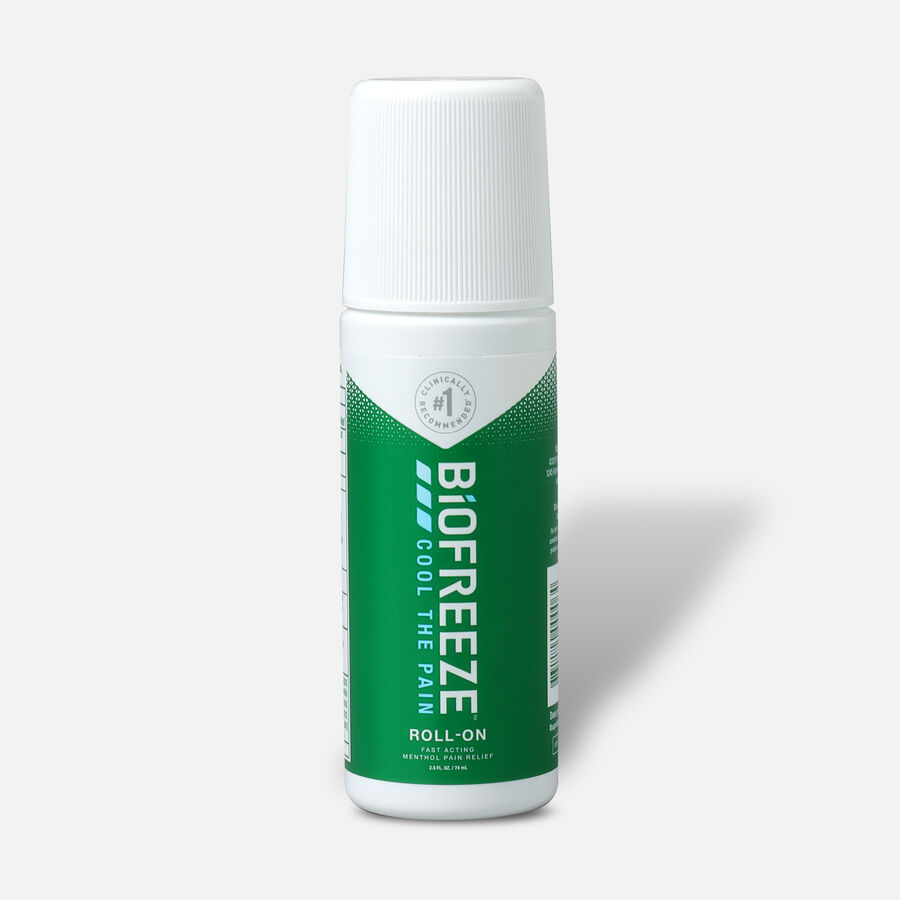 Biofreeze® Pain Relieving Roll-On, Green, 2.5 oz, , large image number 0