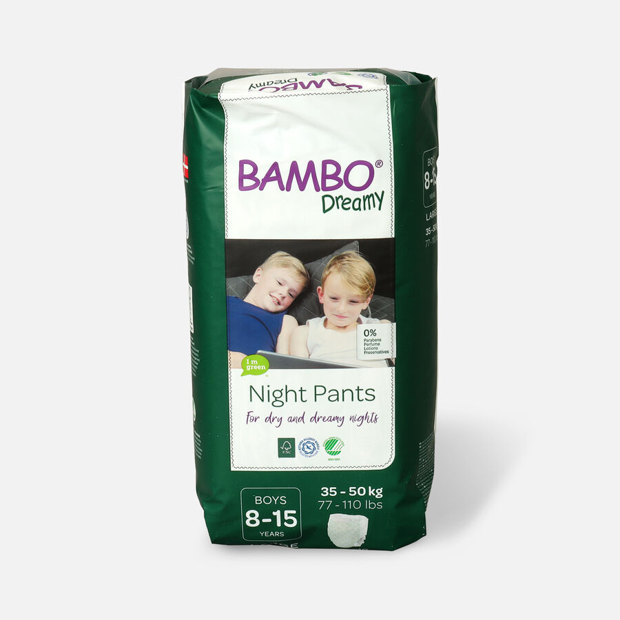 Bambo Dreamy Night Pants, Boys, 4-7 Years, 10ct, , large image number 3