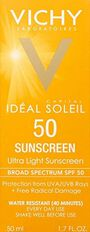 Vichy Idéal Capital Soleil SPF 50 Ultra-Light Face Sunscreen with Antioxidants and Vitamin E, 1.7 Fl. Oz., , large image number 4