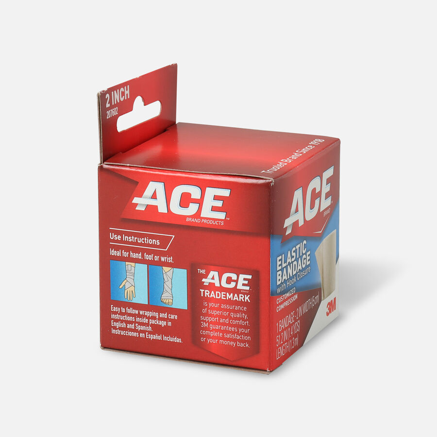 ACE Elastic Bandage with Hook Closure, , large image number 3