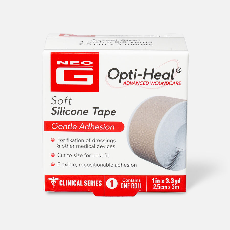 """Neo G Soft Silicone Tape, 1"""" x 3.3 yrd, , large image number 0"""