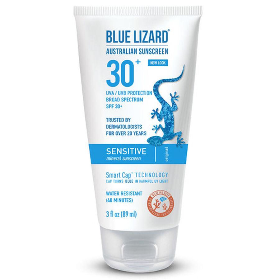 Blue Lizard Sensitive Australian Sunscreen, SPF 30+, 3 fl oz, , large image number 1