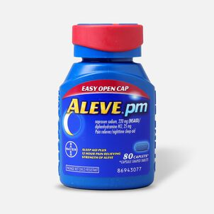 Aleve PM Caplets, Soft Grip Cap