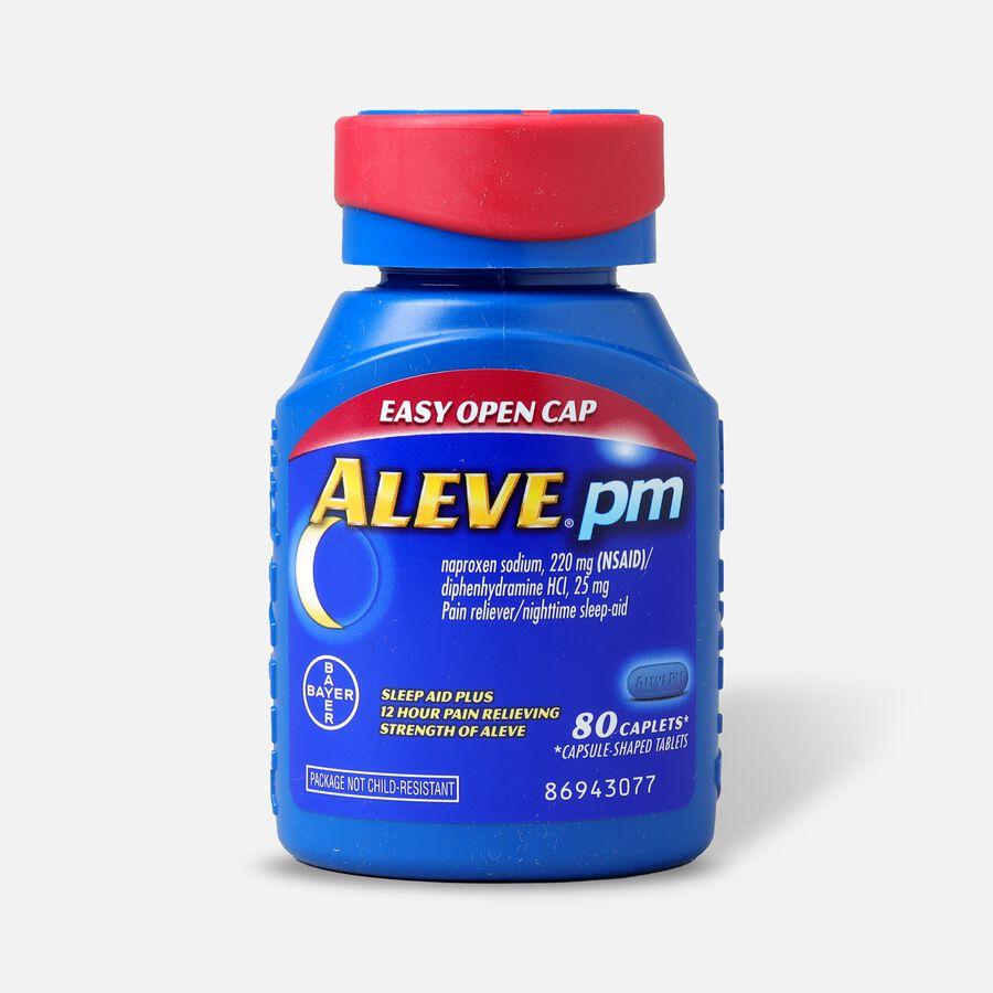 Aleve PM Caplets, Soft Grip Cap, , large image number 0