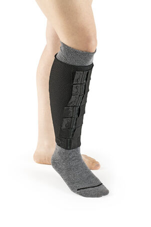 SIGVARIS Coolflex No Foot Compression Wear, Black