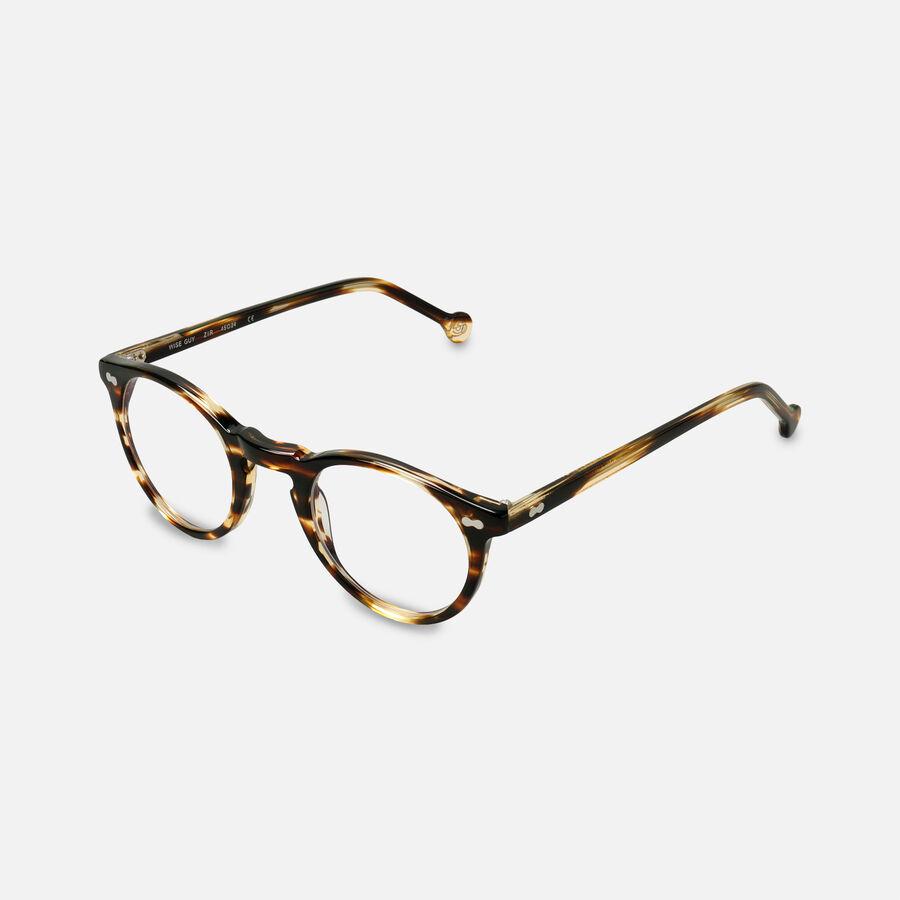 eyeOs Wise Guy Tortoise Premium Reading Glasses, , large image number 2