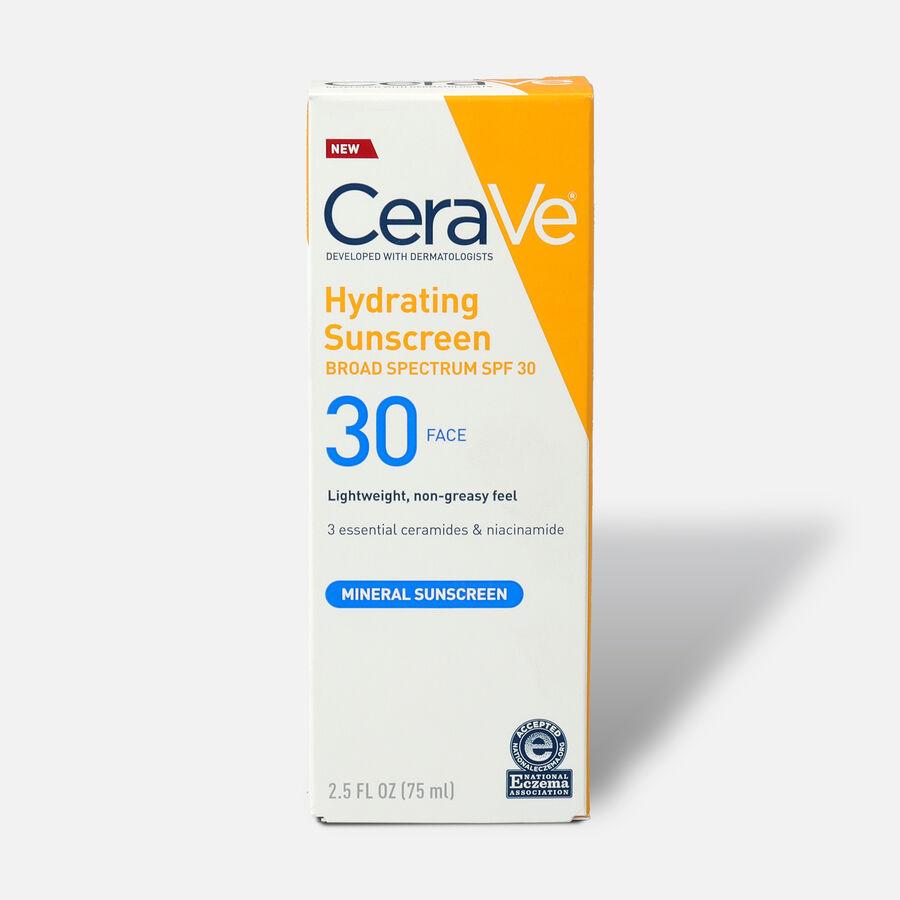 CeraVe Sunscreen for Face Lotion, SPF 30, 2.5 fl oz, , large image number 0