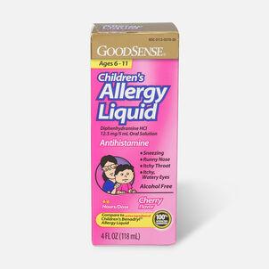 GoodSense® Children's Allergy Liquid for Allergy Relief, Cherry Flavor, 4 fl oz
