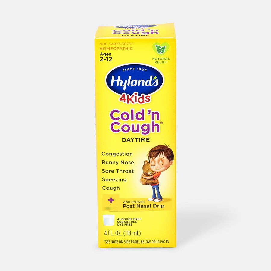 Hyland's 4 Kids Cold and Cough, 4 oz, , large image number 1