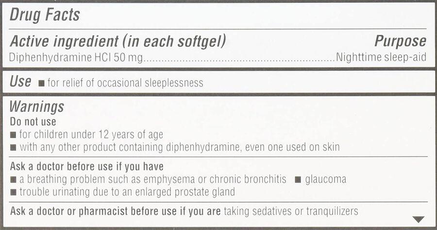Unisom SleepGels, 60 ct, , large image number 3