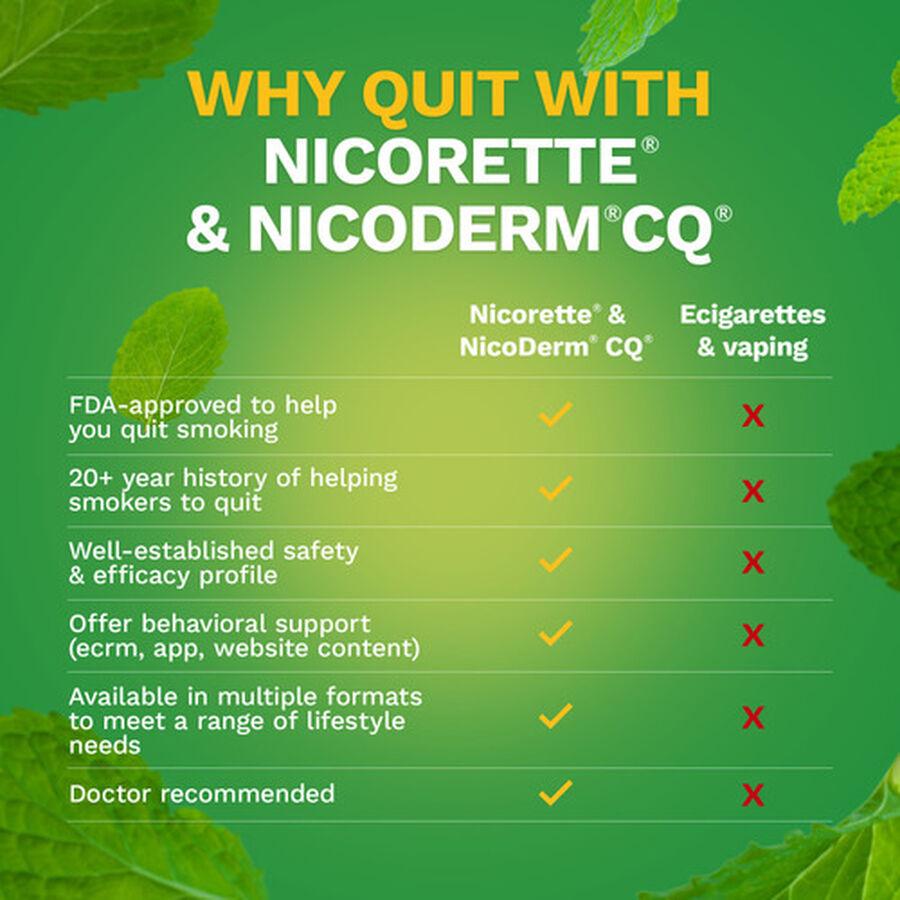 Nicorette Gum, 2mg, 100 ct, , large image number 5