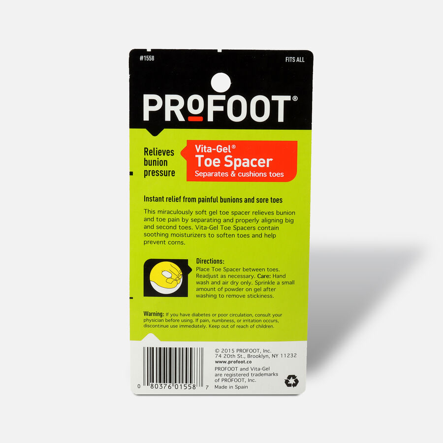 Profoot Care Vita-Gel Toe Spacer, 1 ea, , large image number 1