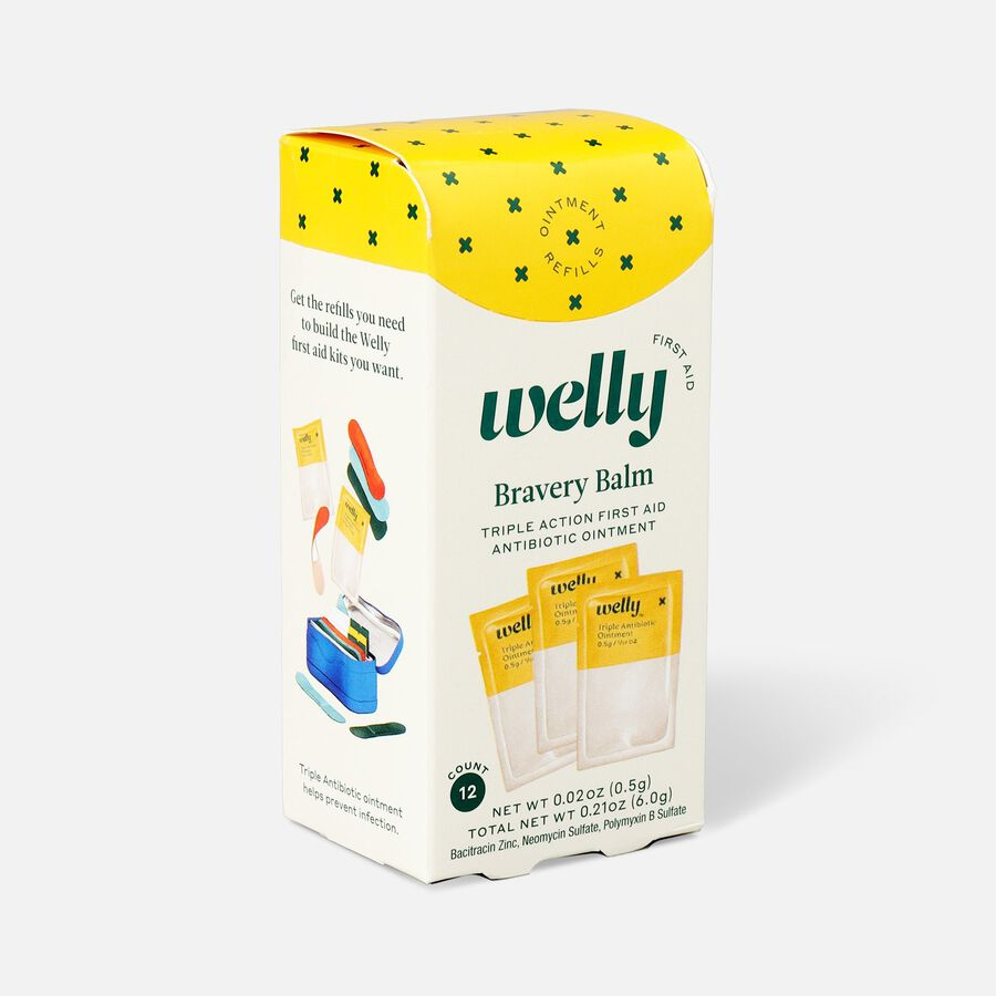 Welly Bravery Balm Triple Antibiotic Ointment Refill - 12ct, , large image number 2