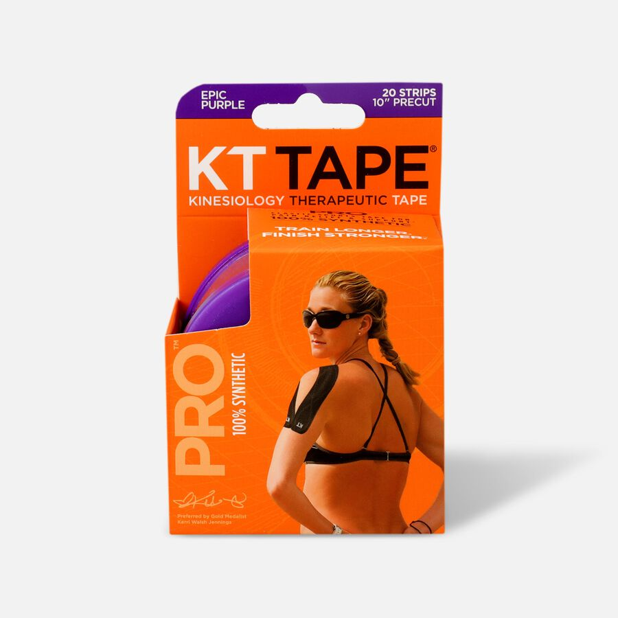 KT TAPE PRO, Pre-cut, 20 Strip, Synthetic, , large image number 1