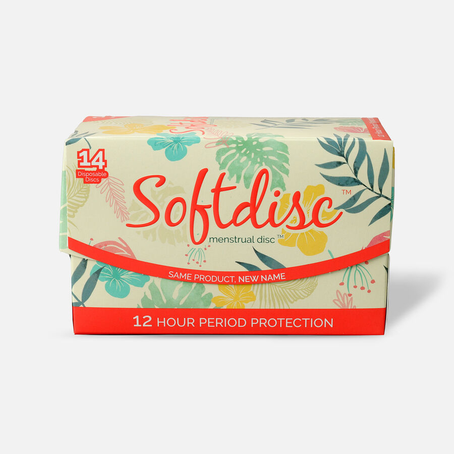 Softdisc Menstrual Discs, 14ct, , large image number 0