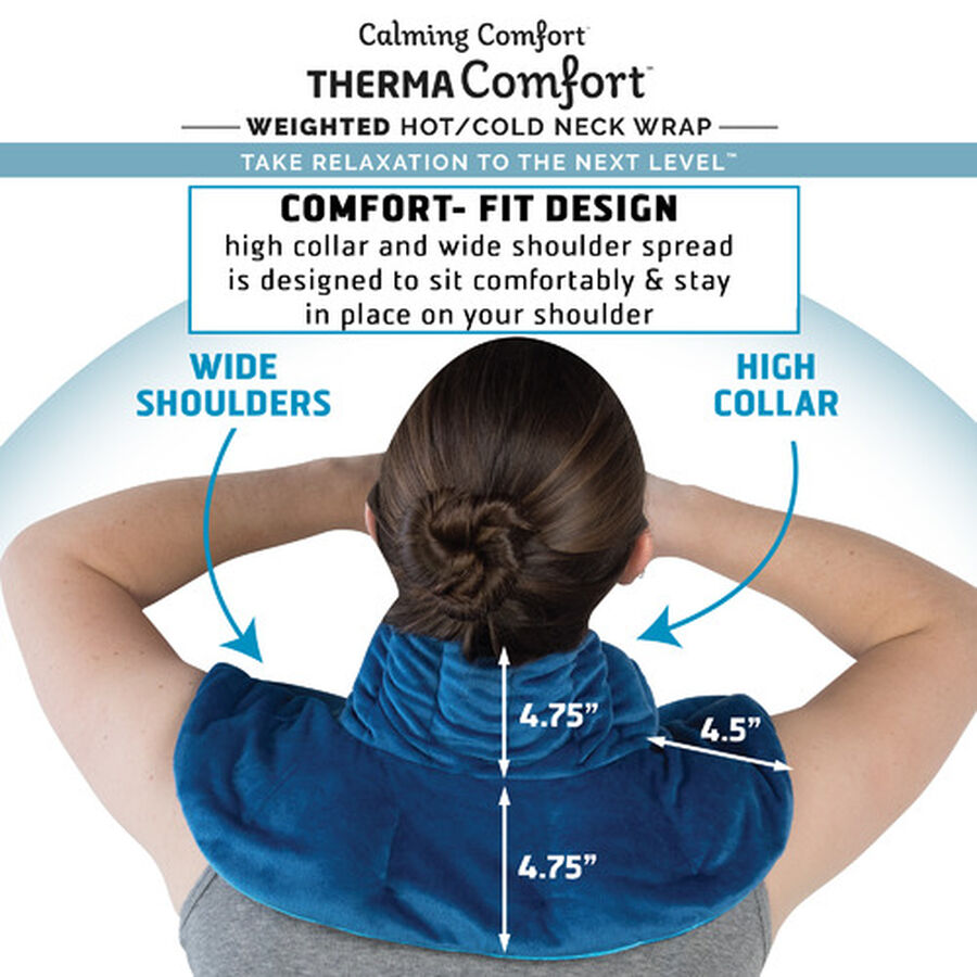ThermaComfort™ 3 lb. Weighted Hot/Cold Neck Wrap, , large image number 6