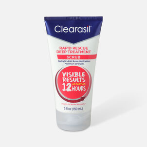 Clearasil Rapid Rescue Deep Treatment Scrub, 5oz.