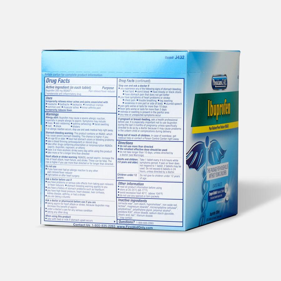PhysiciansCare Ibuprofen, 500/Box, , large image number 1