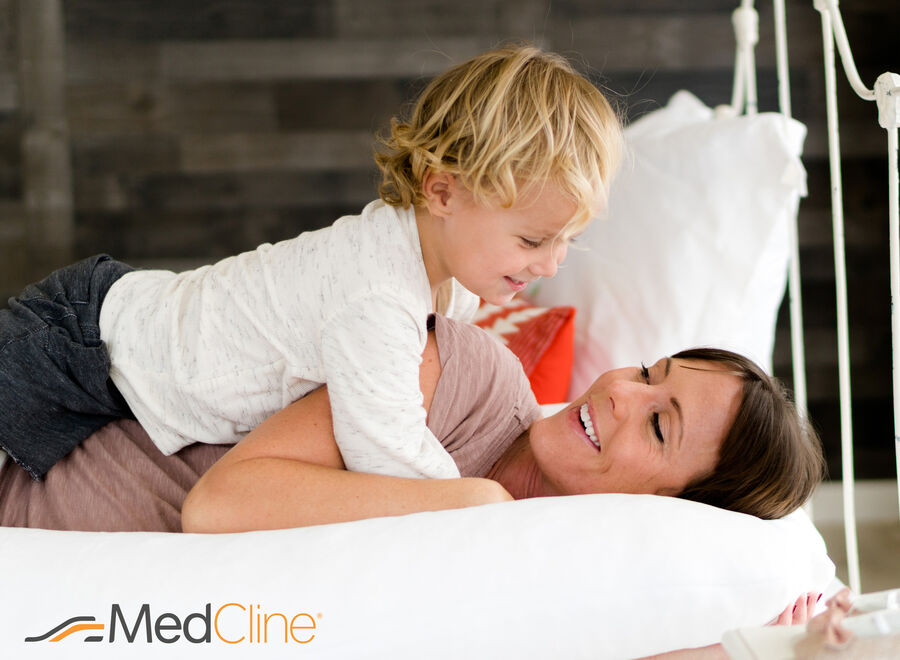 MedCline Therapeutic Body Pillow, Small, , large image number 1