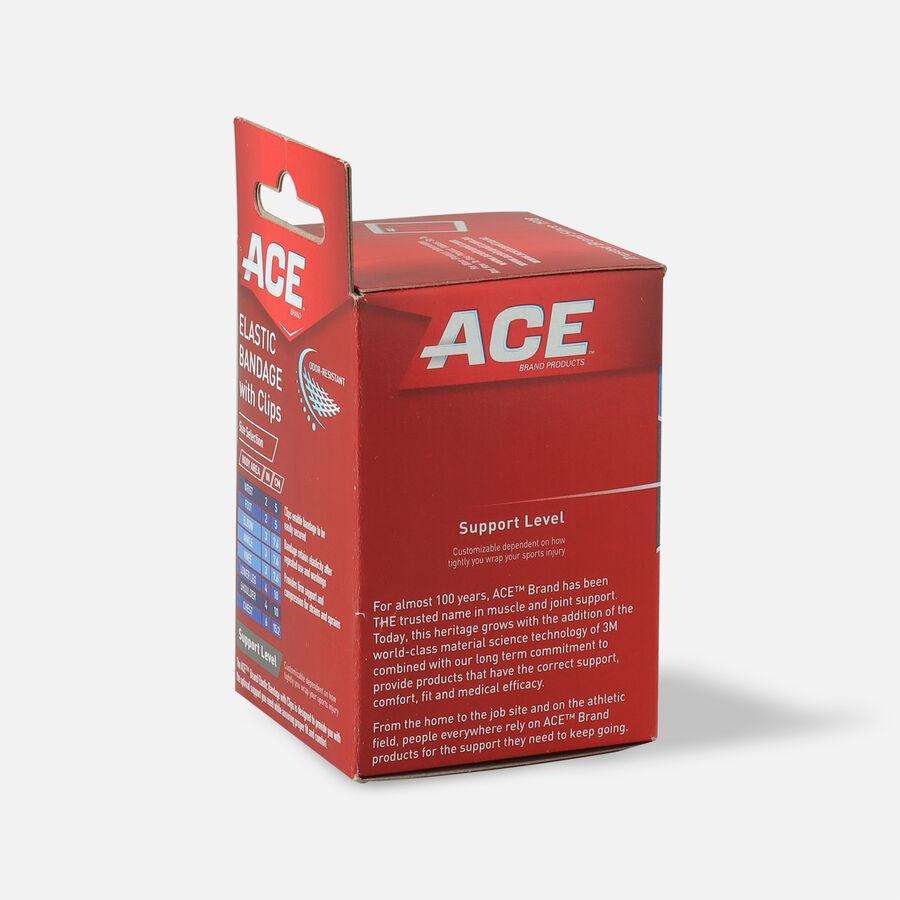 Ace Elastic Bandage with Clips - Black, , large image number 4