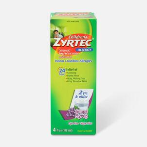 Children's Zyrtec 1mg Grape Syrup, 4 fl oz