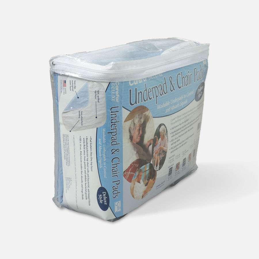 Carefor Reusable Deluxe Underpads Quilted 36 x 72 Inches - One Underpad Per Package, , large image number 2
