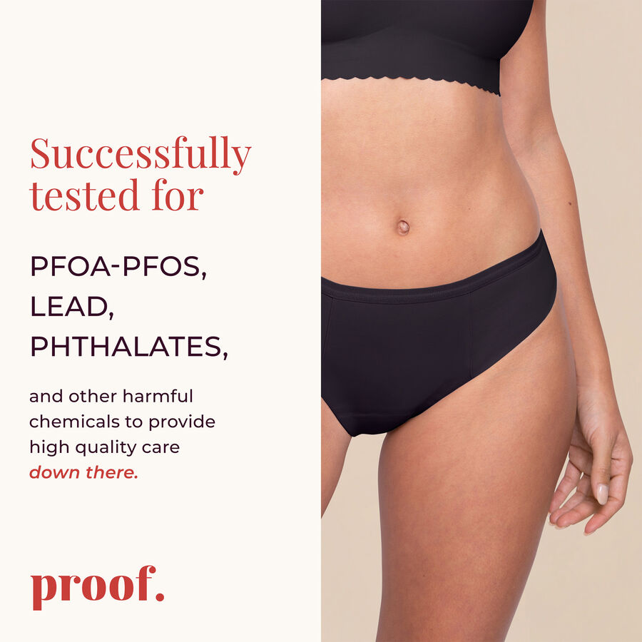 Proof® Leak & Period Underwear - Bikini (4 tampons / 8 tsps), , large image number 5