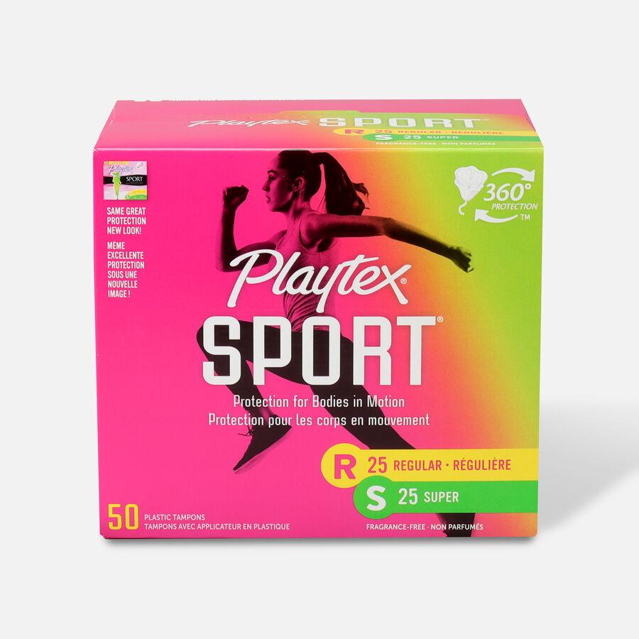 Playtex Sport Multipack Tampons, Unscented (Reg/Super), , large image number 2