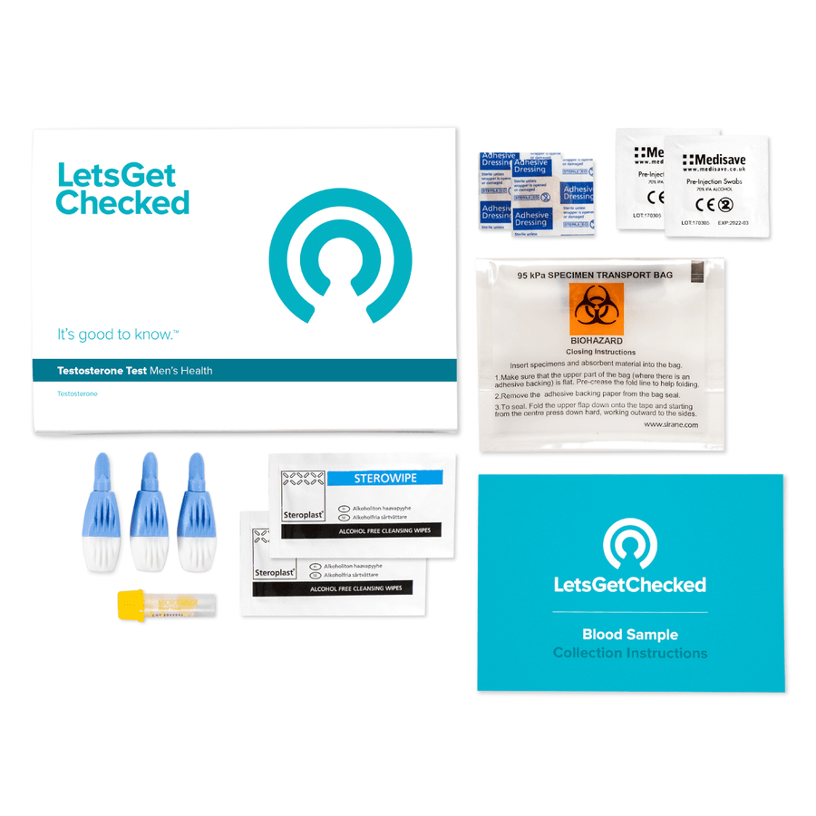LetsGetChecked Testosterone Check Home Test, , large image number 4