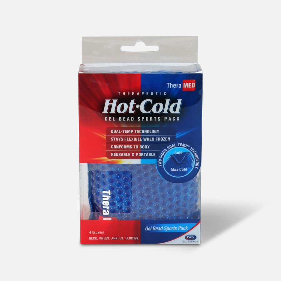 TheraMed Hot & Cold Gel Bead Sports Pack, , large image number 0