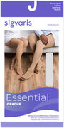 SIGVARIS Essential Opaque Thigh-High Open Toe, Crispa, , large image number 7