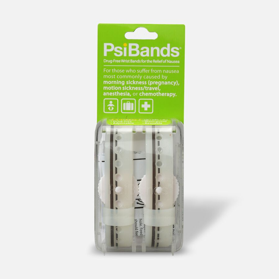 Psi Bands Nausea Relief Wrist Bands - Crystal Clear, , large image number 0
