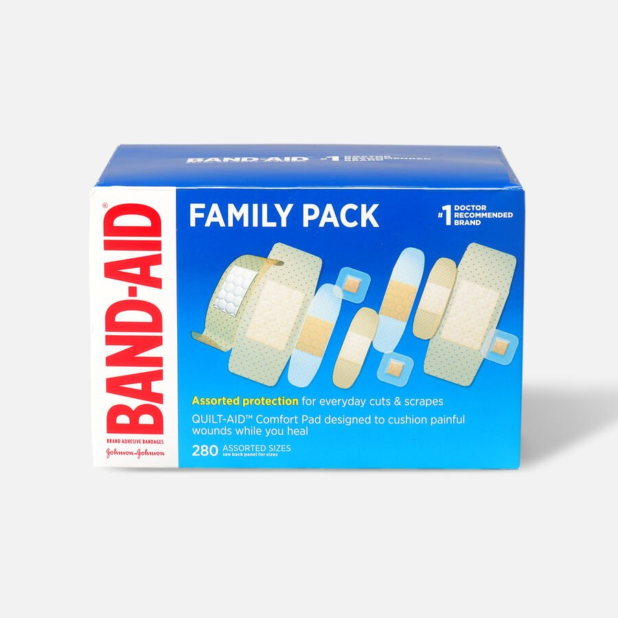 Band-Aid Sheer Variety Pack Assorted, 280 ea, , large image number 0