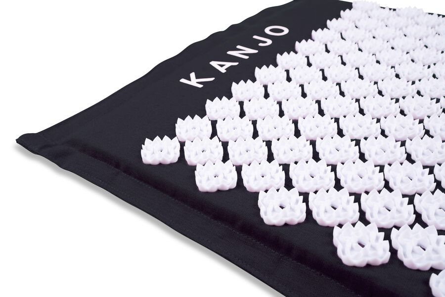 Kanjo Memory Acupressure Mat Set with Pillow, Onyx, , large image number 2