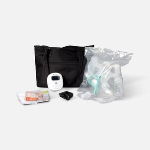 Ameda Mya Joy Double Electric Breast Pump with Large Tote and Accessories