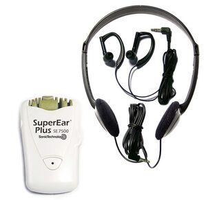 SuperEar PLUS SE7500 Dynamic Low-Profile Personal Sound Amplifier