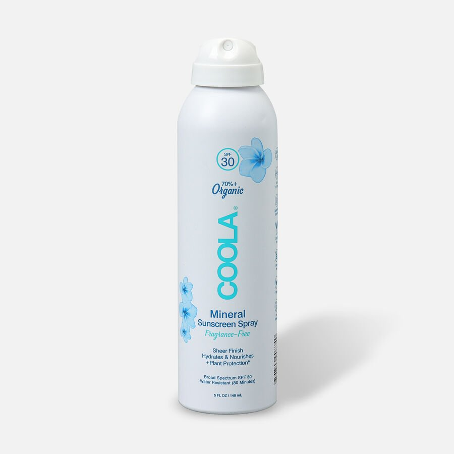 Coola Mineral Body Organic Sunscreen Spray SPF 30 Fragrance-Free, 5oz., , large image number 0