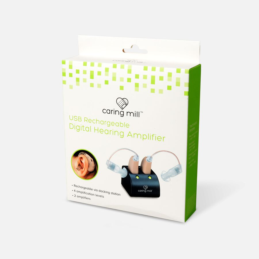 Caring Mill™ USB Rechargeable Digital Hearing Amplifier, , large image number 2